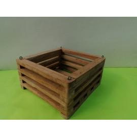 Square basket 18 cm