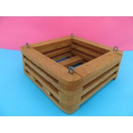 Square basket 15 cm