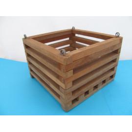 Beech square basket 20 cm
