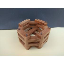 Octagonal basket 13 cm