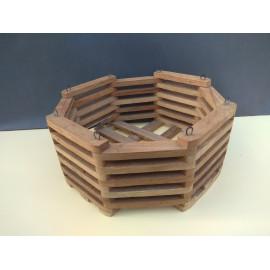 Octagonal basket 25 cm