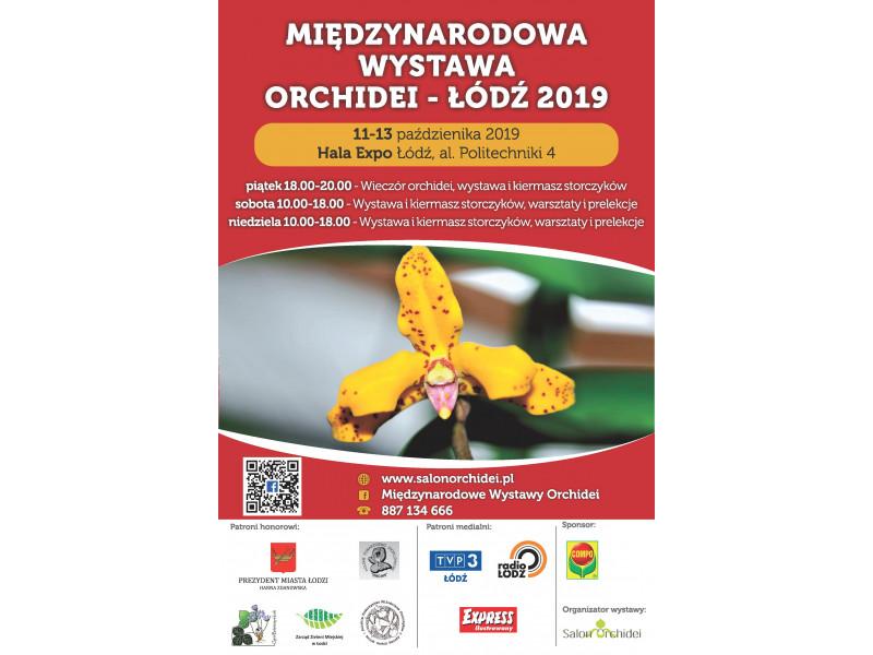 Międzynarodowa Wystawa Orchidei - Łódź 2019